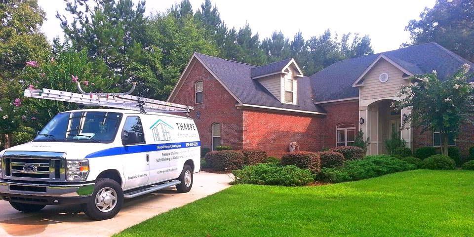 tharpe-exterior-cleaning-van